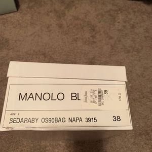 Manolo Blahnik Sedaraby Shoes